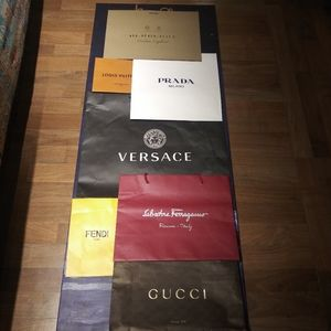 LUX Designer Shopping Bags